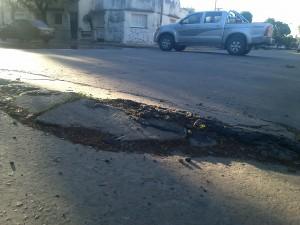 Piden desde el Frente Renovador que se tomen las juntas del asfalto en Chacabuco.