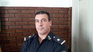 Subcomisario, Julio Santiago Monserrat, nuevo Jefe de la Subestación de Policía de Rawson.