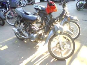 Motos recuperadas por la Policía de Chacabuco.