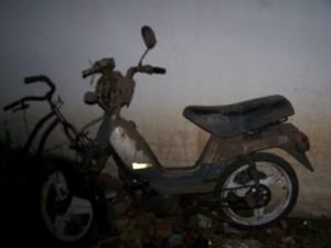 Ciclomotor Zanella secuestrado por la Policía de Chacabuco.