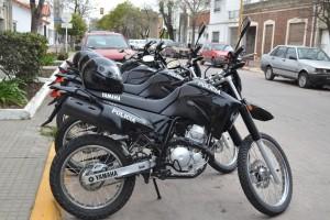 Nuevas motos para controles policiales.