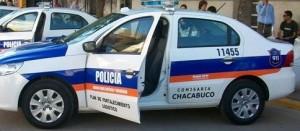 Allanamiento positivo en Chacabuco.