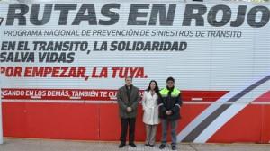 Móvil Rutas en Rojo en Chacabuco.