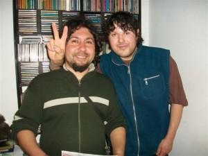 Carlos Fernández y Ramón Baucero.