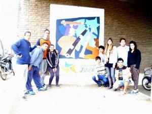 Presentación del mural.