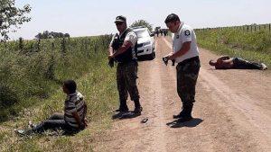 Dos narcos detenidos tras un vuelo narco en el partido  de Rojas.