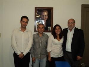 Javier Nazar, Fernando Menaglio, Luciana Molina, Carmelo Pernicone.