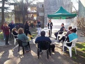 Jornada de nutrición en el barrio Parque Chacabuco