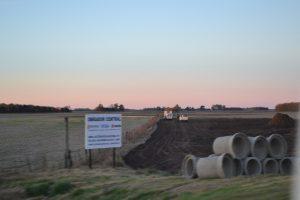 Autopista RN7: trabajos preliminares