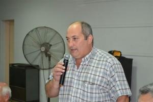 Ángel Olivstto, secretario de Finanzas del STM fue parte de la reunión.