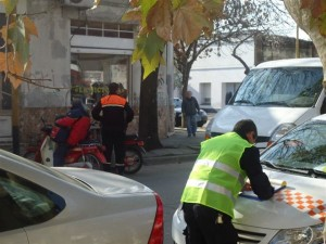 Operativos de tránsito en Chacabuco.