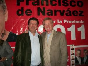 Ortega y De Narváez en Chivilcoy.