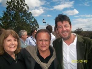 Graciela Rodríguez, Miguel Del Sel y Jorge Ortega.
