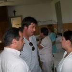Speranza y Ortega en el Hospital de Castilla.