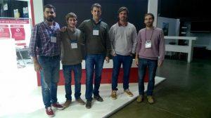 Santiago Arias, Andrés Yerkovich, Pablo Etchanchú, Gerónimo Oliva y Agustin Rocha.