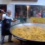 Paella Gigante en Chacabuco.
