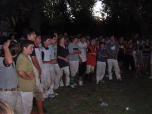 Los jugadores categoría menores que participaron del Torneo Pato Picadero en Rawson.