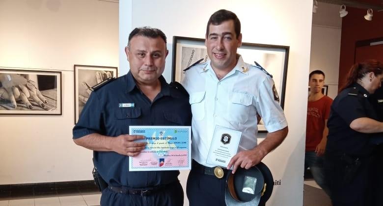 Ángel Pedraza y Diego Florance recibieron reconocimiento
