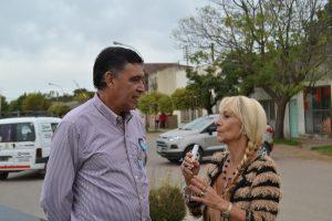 Pedro Correa en la entrevista con Mónica del Castillo.