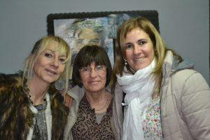 Mónica del Castillo junto a Patricia Perkins y Romina Quadrelli.