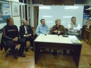 Angela Bevilacqua de Suarez en viernes en la Casa Peronista.