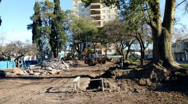 Continúan las obras públicas para la ciudad de Chacabuco