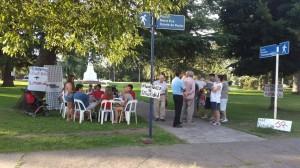 La UCR se opone a la  remodelar la Plaza Belgrano de Chacabuco.