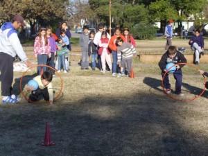 Proyecto plazas divertidas en Chacabuco.