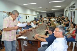 Domínguez, Barrientos y Golía en el Plenario llevado a cabo ayer.