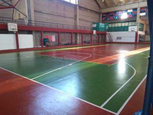 Avanzan las mejoras edilicias en el Polideportivo