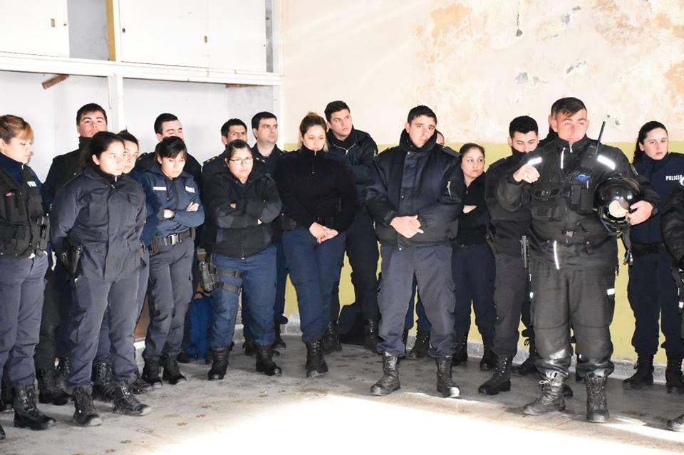 Agentes en capacitación