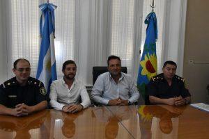 Se presentó oficialmente al nuevo Comisario de Chacabuco.