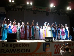 Reinas invitadas en la pasada Fiesta.