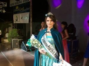 Mora García Bailleres, Segunda Princesa de la XXVIII Fiesta Provincial de la Primavera.
