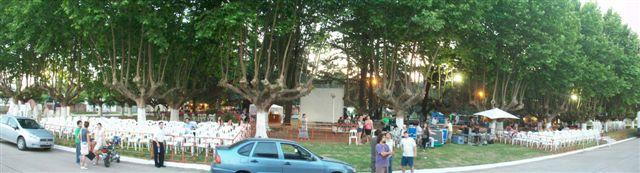 Imagen de la Plaza General San Martín.
