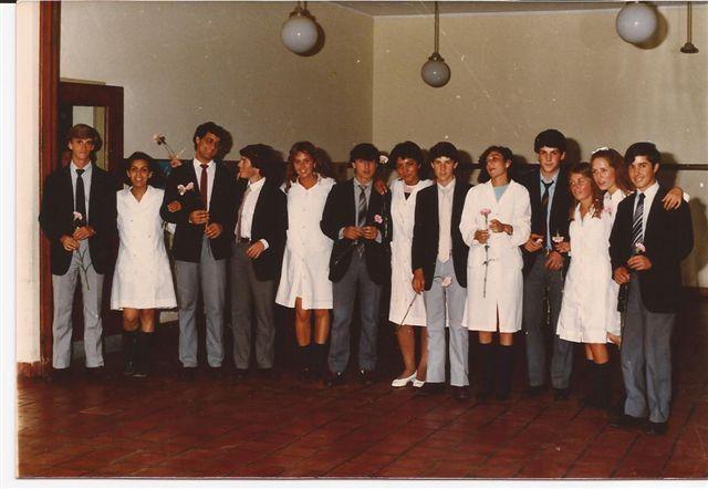 Alumnos de la Promoción 1985.