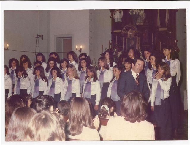 Encuentro Coral organizado por los Egresados 1978 en homenaje a todos los egresados de todos los niveles educativos.