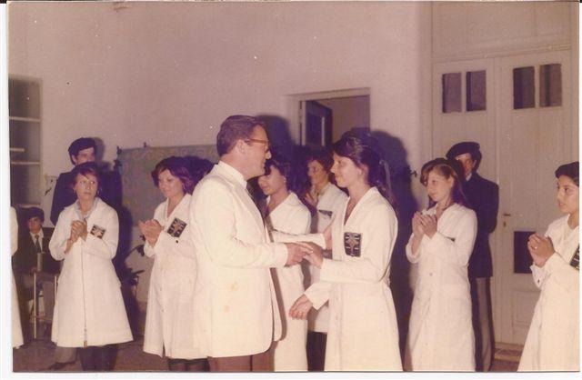 Entrega de Diplomas. N.Pérez a Perla Rabuffi.