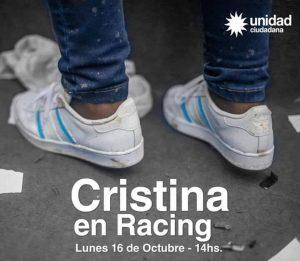 Cristina en Racing