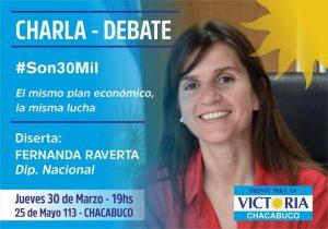 Fernanda Raverta visita Chacabuco