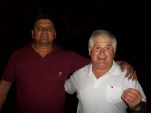 Manuel Ojeda y Pedro Ualt de La Resistencia.
