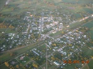 Vista aérea tomada por Ubaldo Dematei.