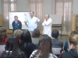 Curso de RCP en Chacabuco.