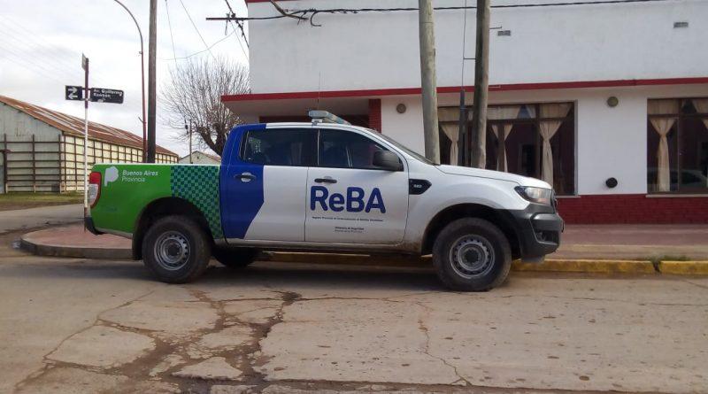ReBA en Rawson, recorriendo comercios
