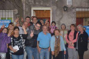 Recorrida en el barrio Santa Emilia