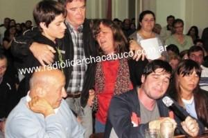Anoche en el HCD de Chacabuco: reclamo y dolor de familiares de víctimas de la RN 7.