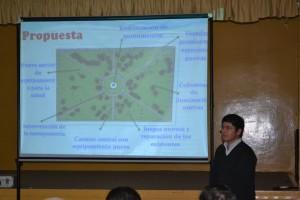 Presentaron la obra de remodelación de Plaza Belgrano.