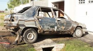 El Renault 11 de propiedad de Barrales.