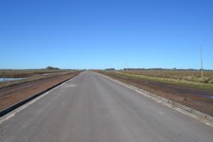 Restan unos 5 kilómetros para finalizar la obra.