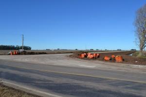 Comienzo del acceso a Castilla y Ruta Provincial 51.